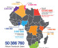African Facebook Users Infographic