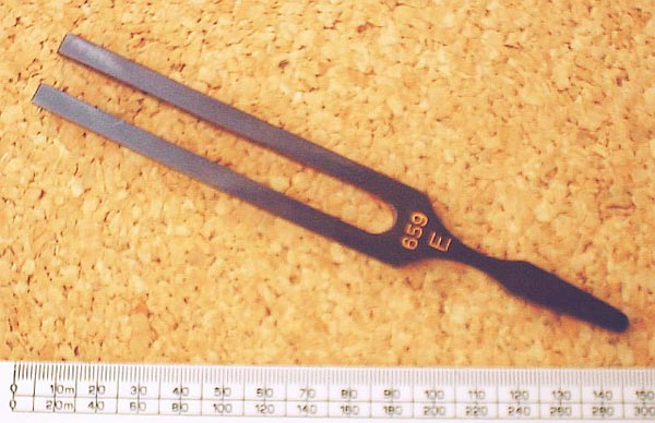 CC photo from http://en.wikipedia.org/wiki/Tuning_fork