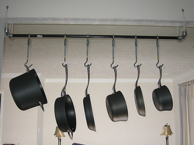Hanging pots 'n pans