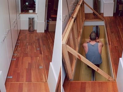 Under-floor storage