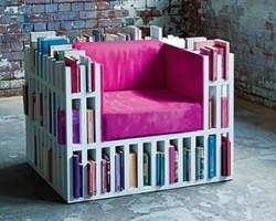 Shelved furniture