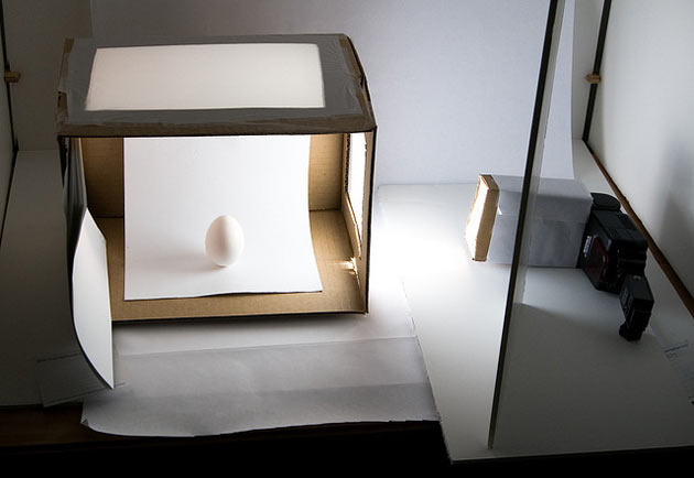 Cardboard light box